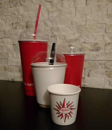 double wall cold cup